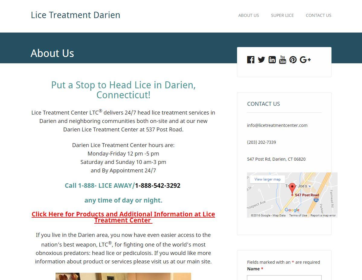 Lice Treatment Center Darien