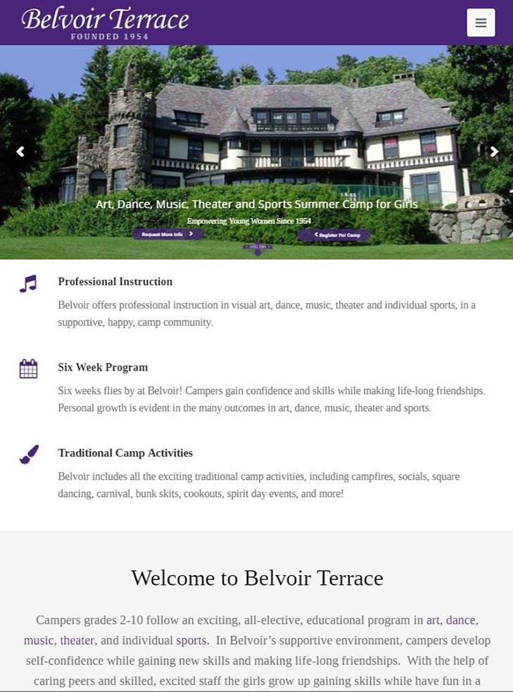 belvoir terrace summer camp